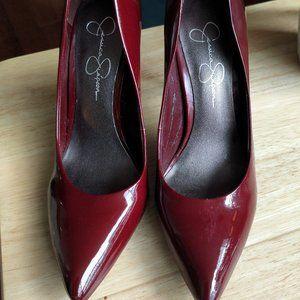Jessica Simpson Dark Red pumps 7.5